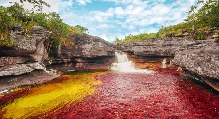 COLOMBIA: Así es 'el río de los dioses' que cambia de color