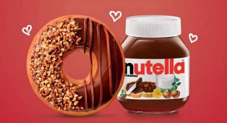 ¡Siempre sí habrá dona de Nutella!