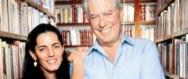 Mario Vargas Llosa tiene una conversación pendiente con su hija Morgana