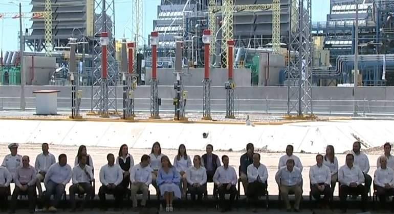 Inaugura Peña Nieto libramiento ferroviario en Durango