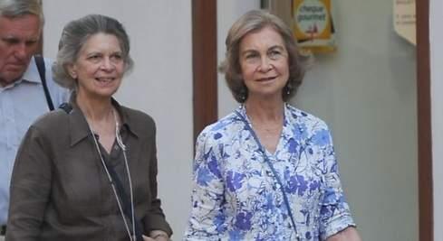 Sofía, Irene y un  italiano en Mallorca