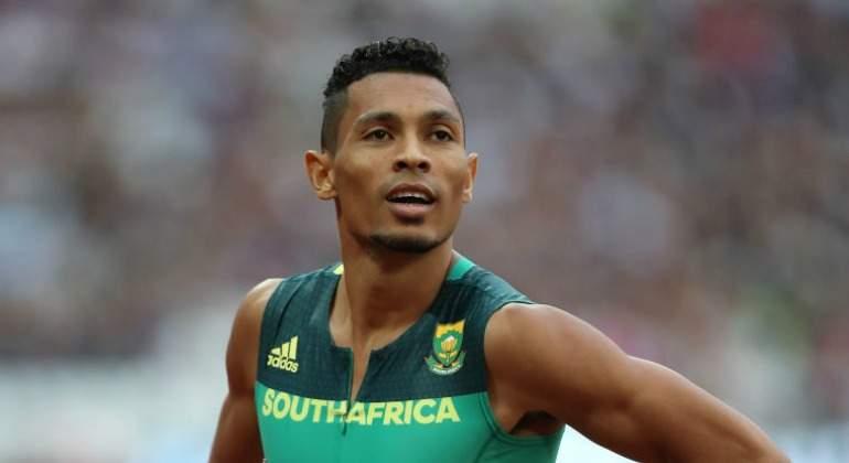 Van Niekerk domina los 400