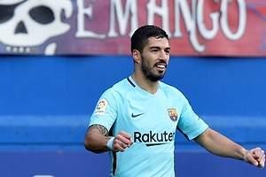 El Barça recurre a Messi y Suárez
