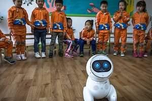 Los robots ya cuidan al humano