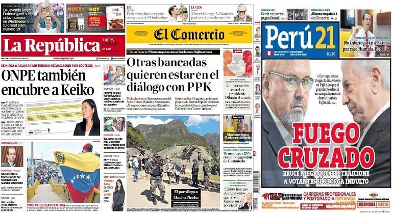 72% respalda diálogo entre Pedro Pablo Kuczynski y Keiko Fujimori — Ipsos