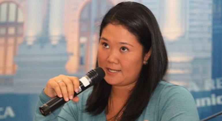 Keiko Fujimori denuncia campaña de desprestigio por caso Odebrecht