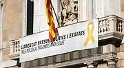 El TSJC abre una nueva causa contra Torra por no retirar el lazo amarillo del Palau