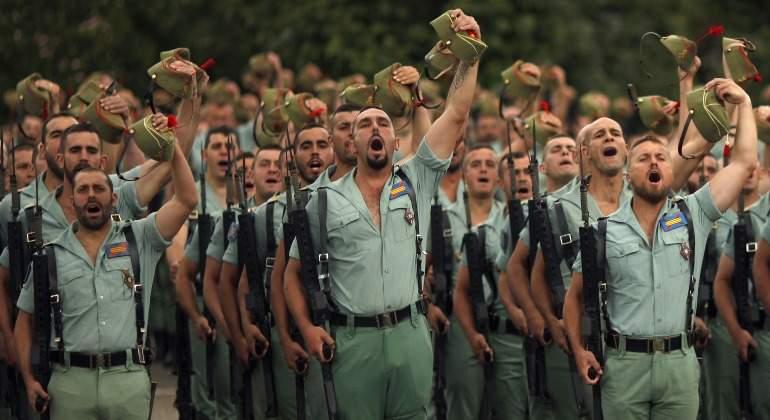 Legionarios-Legion-saludo-militar-2018-Reuters.jpg