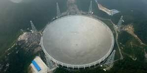 China expropia viviendas para buscar extraterrestres