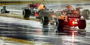 Así fue el caos en la salida del GP de Singapur que dejó a  Alonso fuera