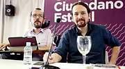 Pablo Iglesias y Pablo Echenique