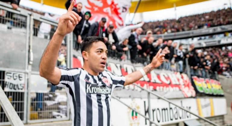 Hace 14 minutosMarco Fabián brilla con doblete y Eintracht remonta al …