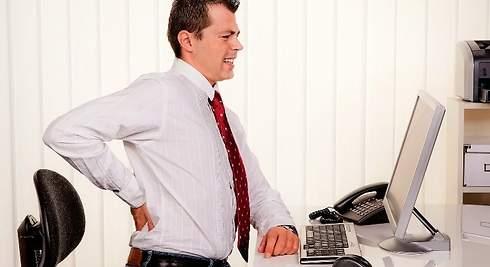 La lumbalgia, el sufrimiento en la oficina