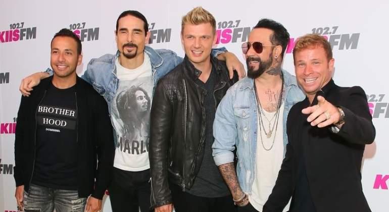 Los Backstreet Boys sacaron carcajadas cantando