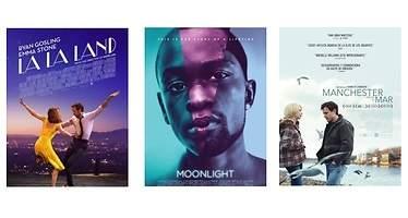 La quiniela de los Oscar: La La Land, favorita frente a Moonlight y Manchester...