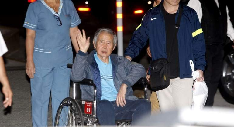 Alberto Fujimori no podrá hacer actividades políticas