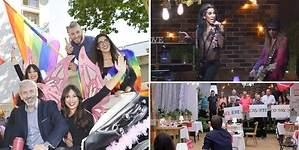 Así celebró First Dates el Orgullo Gay: cabalgata multicolor, pregón en el balcón y pedida de mano