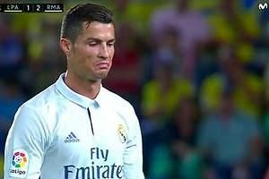 Cabreo de Cristiano con Zidane