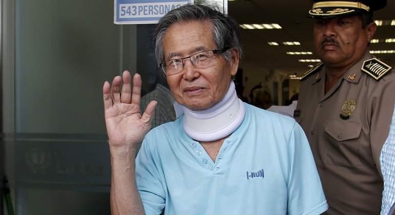 Fujimori abandona la cárcel rumbo al hospital por riesgo de isquemia cerebral