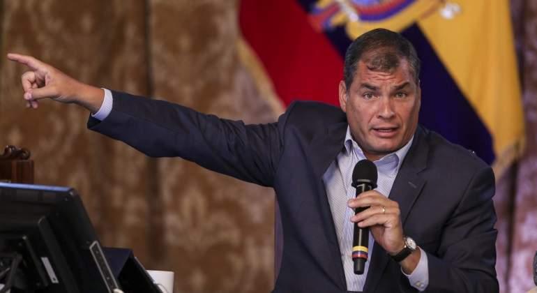 El presidente ecuatoriano dice que la presidencia del Mercosur corresponde a Venezuela
