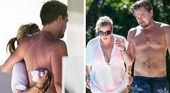 Leo DiCaprio pasea con Kate Winslet, que puede ser su Mona Lisa en el cine