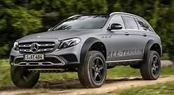 Mercedes-Benz Clase E All-Terrain 4x42: la nueva bestia off road para ir a recoger a los niños al colegio