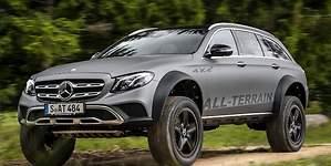 Mercedes-Benz Clase E All-Terrain 4x42: la nueva bestia off road