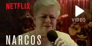 Paquita la del Barrio le canta Rata de dos patas a Pablo Escobar en una nueva promo de Narcos