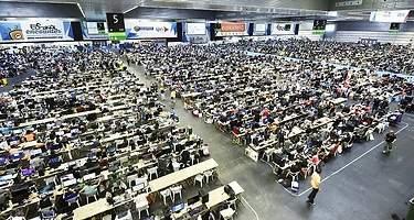 Más de 5.000 ordenadores volando a 40 Gigas simétricos en el Euskal Encounter