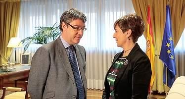 Nadal y Tapia (Euskadi) colaborarán en eficiencia pero sin concretar medidas que alivien el coste energético