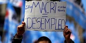 El desempleo en Argentina aumentó más de lo esperado