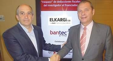 Elkargi firma un acuerdo con la consultora guipuzcoana Bantec