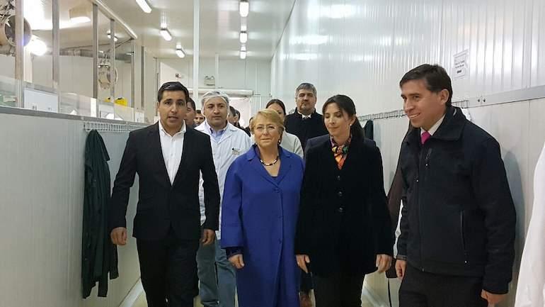 Alerta de incendio en aeropuerto donde se hallaba presidenta Bachelet
