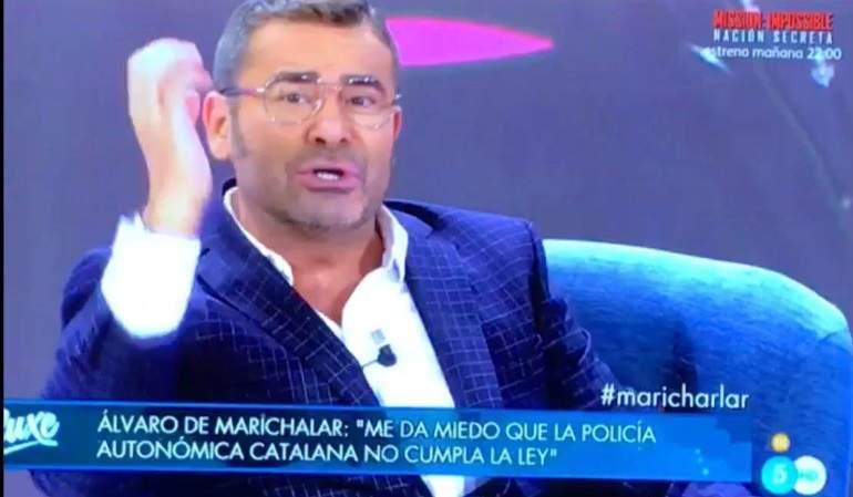 Jorge Javier expulsa del Deluxe a Álvaro de Marichalar: ¡Fuera! ¡A tomar por saco!