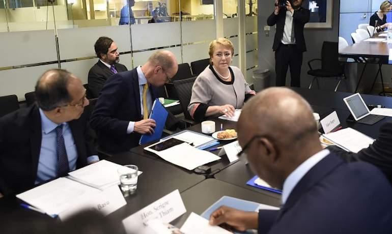 Exponen logros de la Reforma Educacional ante panel del Banco Mundial