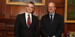 Presidente de Sofofa se reunió con presidente del Banco Central, Mario Marcel