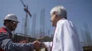 Piñera anuncia inyección de US$ 475 millones en vivienda e infraestructura urbana