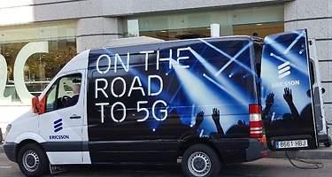 Orange y Ericsson prueban por primera vez el 5G en España