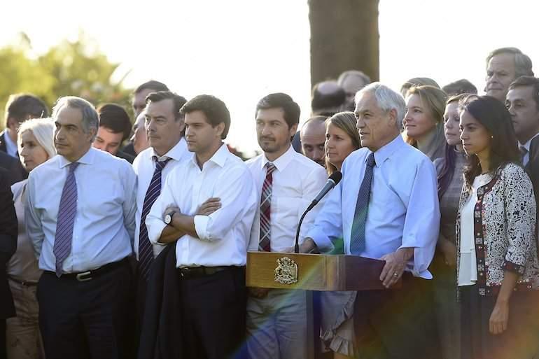 El entusiasmo de Ossandón con Chile Vamos: