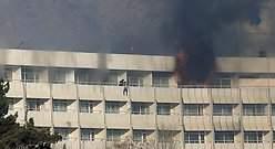 Talibanes reivindican la masacre en un hotel