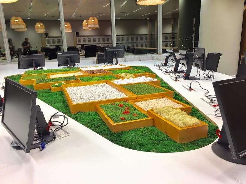 Landscaper llena de naturaleza los espacios de trabajo - Orange en sevilla ...