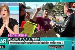 Un activista insulta a Ana Rosa: La mayor fascista de este país