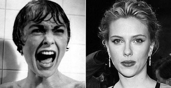 Janet Leight y Scarlett Johansson