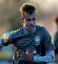 Neymar, posible fichaje del Barcelona en 2013