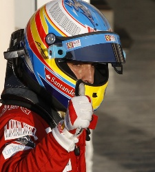Alonso domina en Alemania