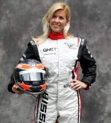 La piloto española María de Villota, herida en un accidente en un test de Marussia