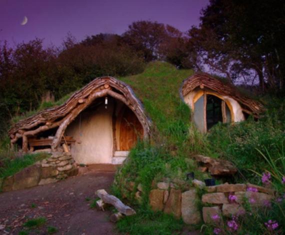Casas de madera de impacto leve en Gales,Reino Unido