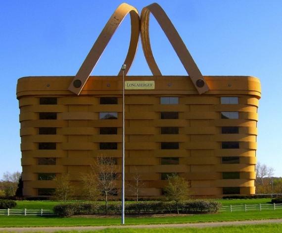 Edificio cesta en Ohio, E.E.U.U