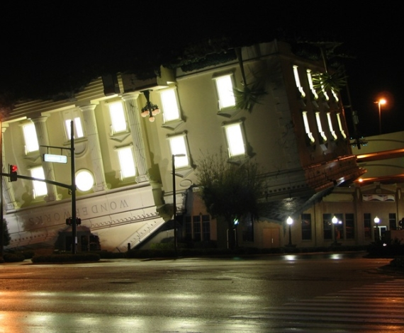 Edificio de 'Wonderworks' en E.E.U.U