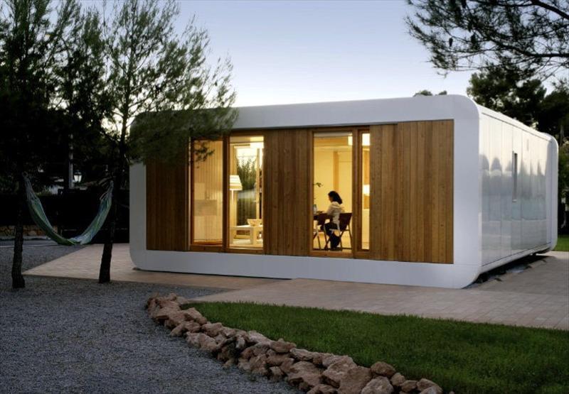 Noem una casa modular ecol gica casi al instante y sin - Casas prefabricadas hormigon barcelona ...